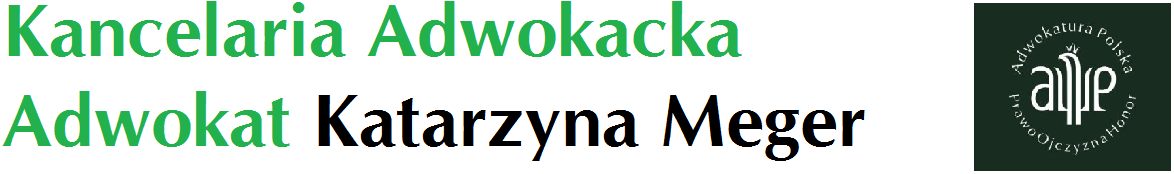 Adwokat Katarzyna Meger